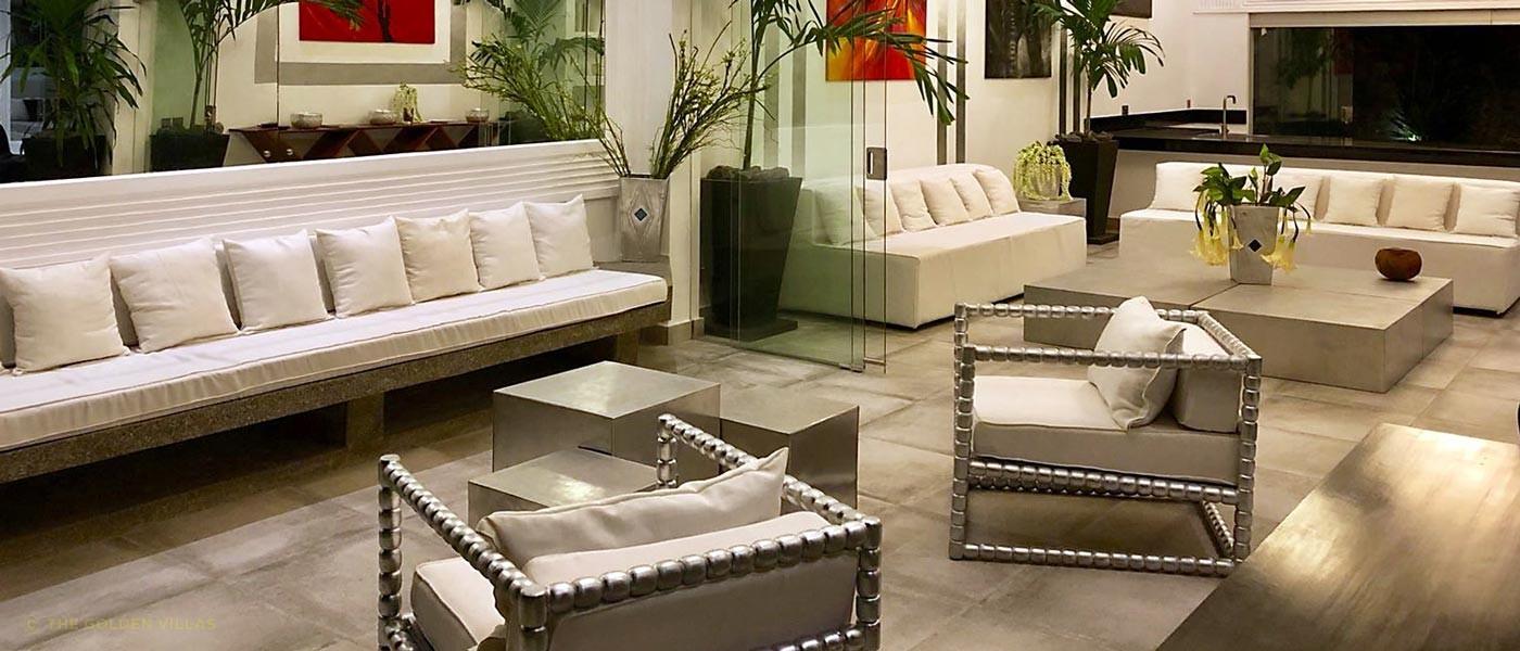 The luxury interior